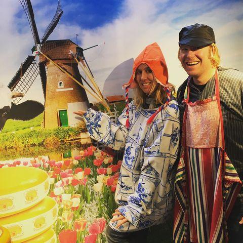 Windmill, Sky, Tradition, Adaptation, Landscape, Plant, Tourism, Leisure, Village,
