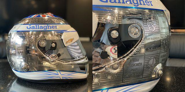 max chilton's 2020 indy 500 helmet