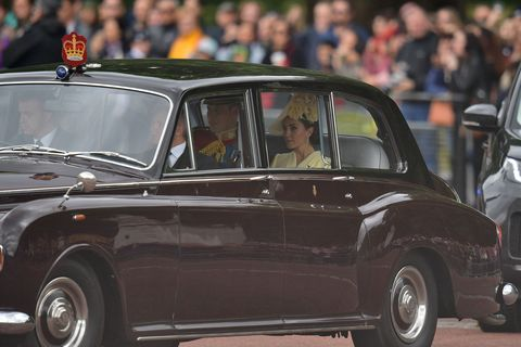 Kate Middleton Arrives At Trooping The Colour In A Seriously