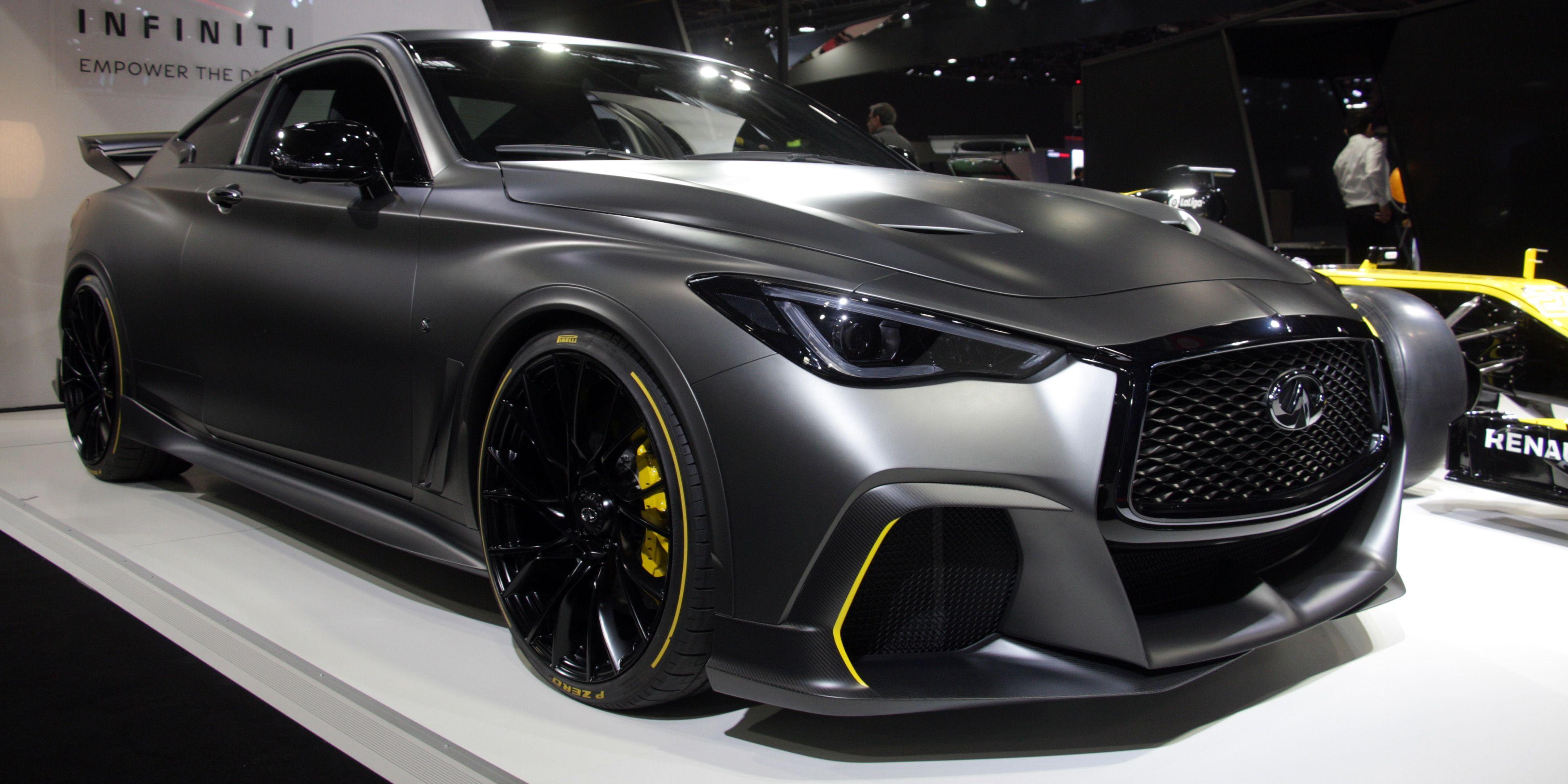 2021 Infiniti Q60 Project Black S Price