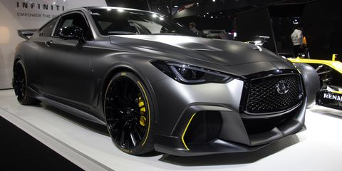 infiniti project black s concept is a 563 horsepower vision for a