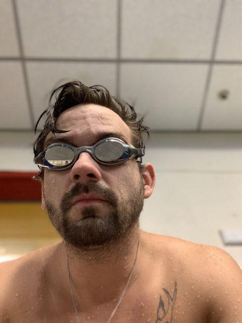 Casey Jones Fitness Transformation Sean Garner Trainer All From Studios Triathlon Swim Bike Run
