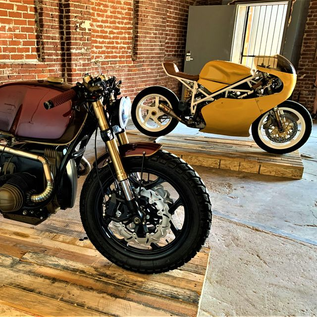 the magnificent motorcycles of morning motos