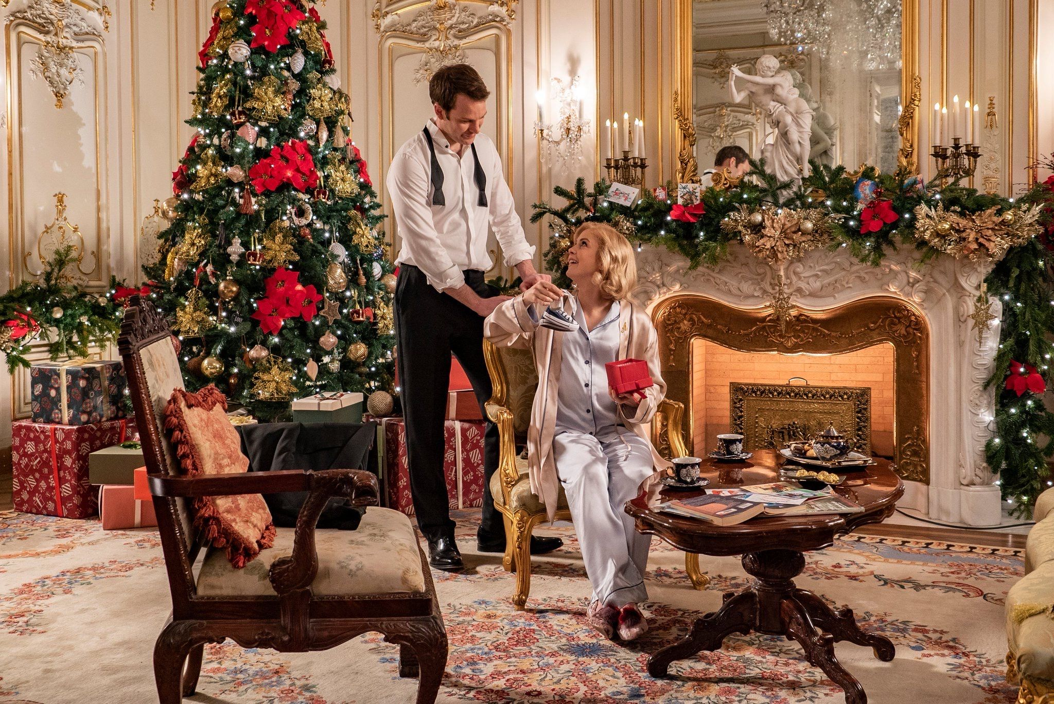 Netflix has released a first look at its new Christmas movies, including A Christmas Prince 3
