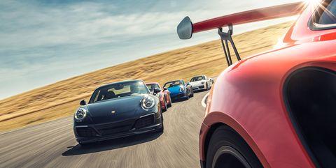 Porsche racing photography