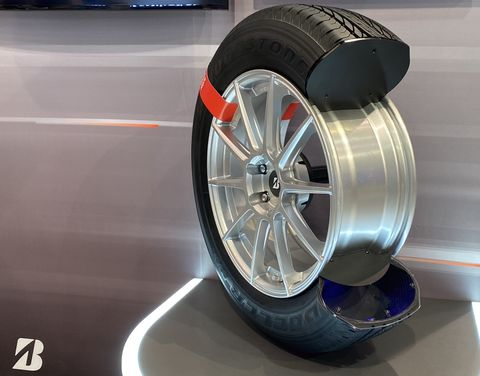 Bridgestone Rolls Out a Connected Tire Concept Claimed to Make You Safer