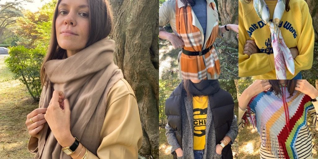 The Fall Scarves No Outfit is Complete Without