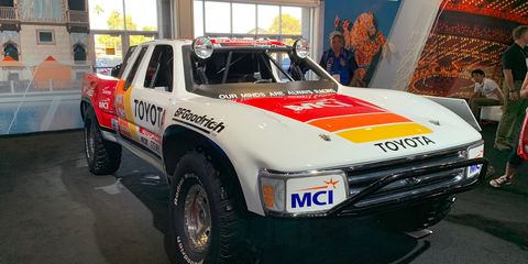 Ironman Stewart's Toyota Trophy Truck at SEMA 2018