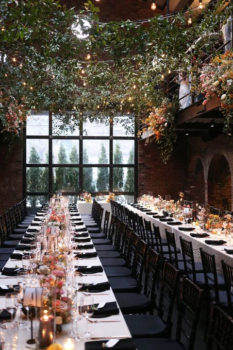 Rehearsal dinner, Restaurant, Function hall, Aisle, Chiavari chair, Table, Building, Banquet, Wedding reception, Brunch,