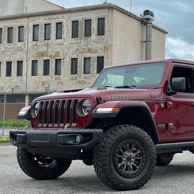 jeep wrangler 392 red maroon 2021