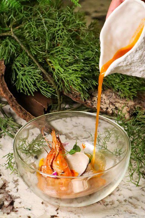 時髦義式餐酒館「crom taipei」新菜公布!干貝、甜蝦、美國特級肋眼⋯千元套餐就吃得到