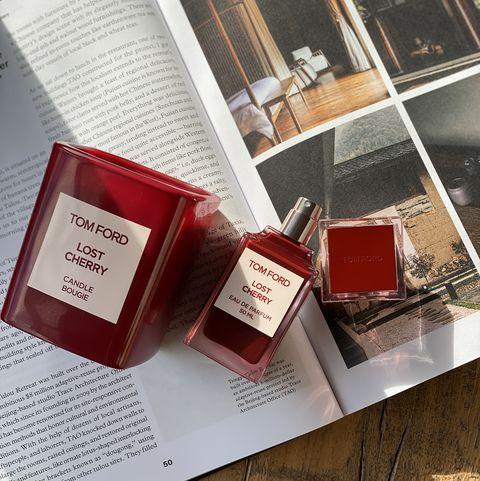 tom ford私人調香系列lost cherry高級訂製香氛蠟燭
