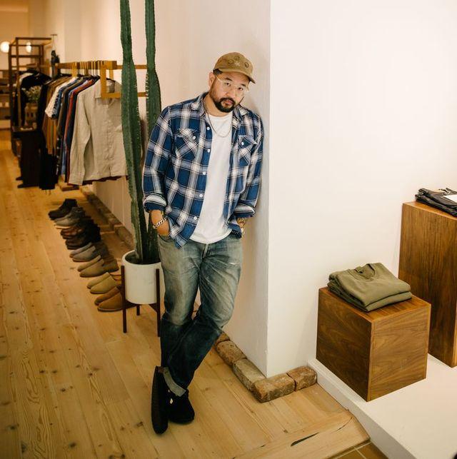 岡山県産のデニムが功を奏した、nycのブランド「3sixteen」創業者にインタビュー
