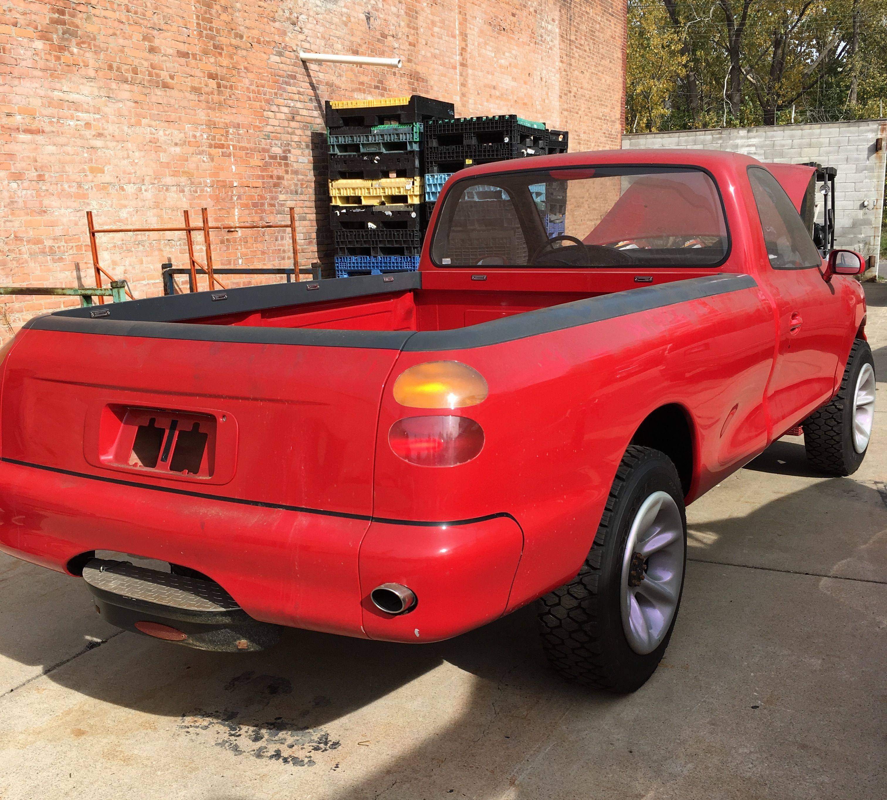 There S An Early 90s Ford Concept Truck For Sale In Detroit