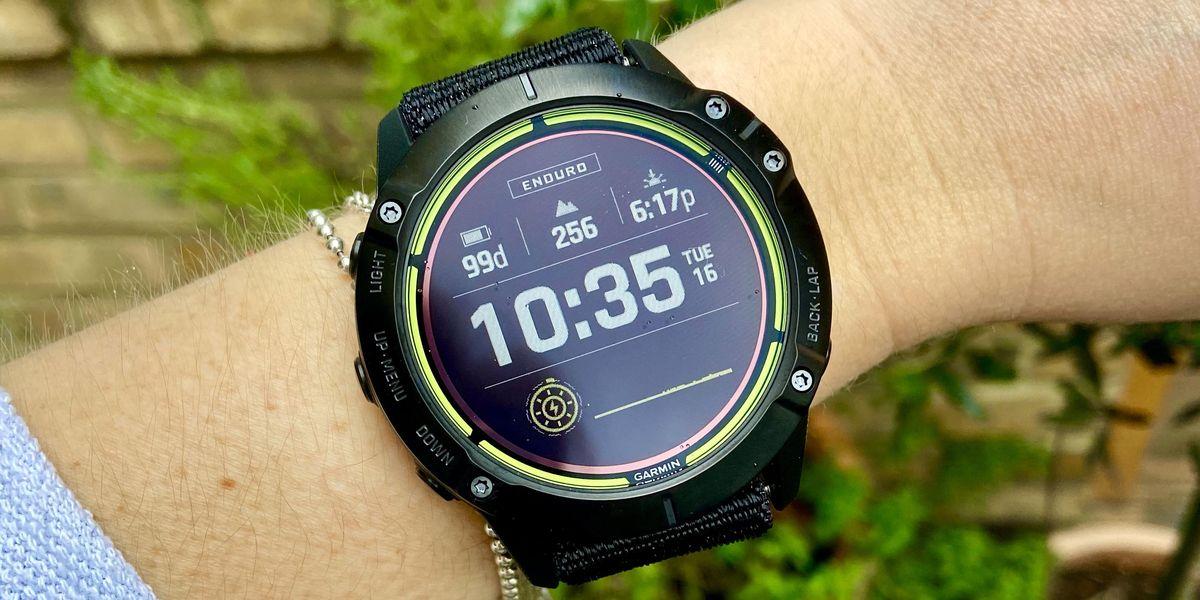 Garmin launches the Enduro - designed for ultra adventures - Runner's World (UK)