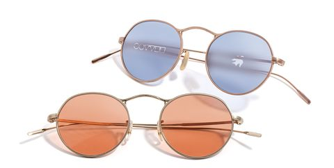 Eyewear, Sunglasses, Glasses, Personal protective equipment, aviator sunglass, Vision care, Goggles, Brown, Transparent material, Material property,