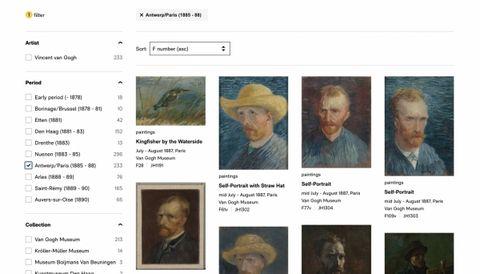 梵谷迷別錯過!荷蘭美術館打造線上梵谷資料庫,一次收藏大師畢生畫作