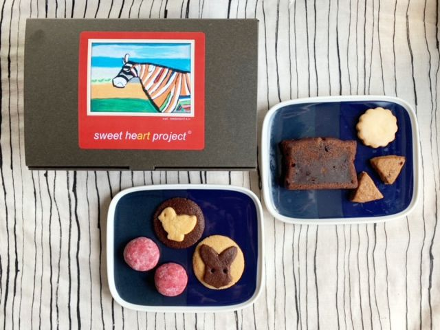 sweet heart projectのクッキー