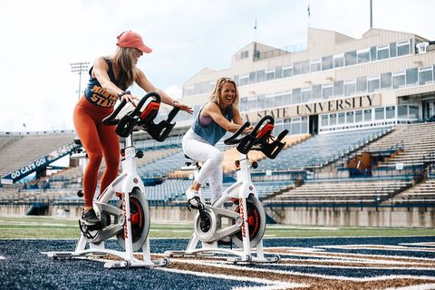 Indoor Cycling Teams Up With College Football in Big Sky Country