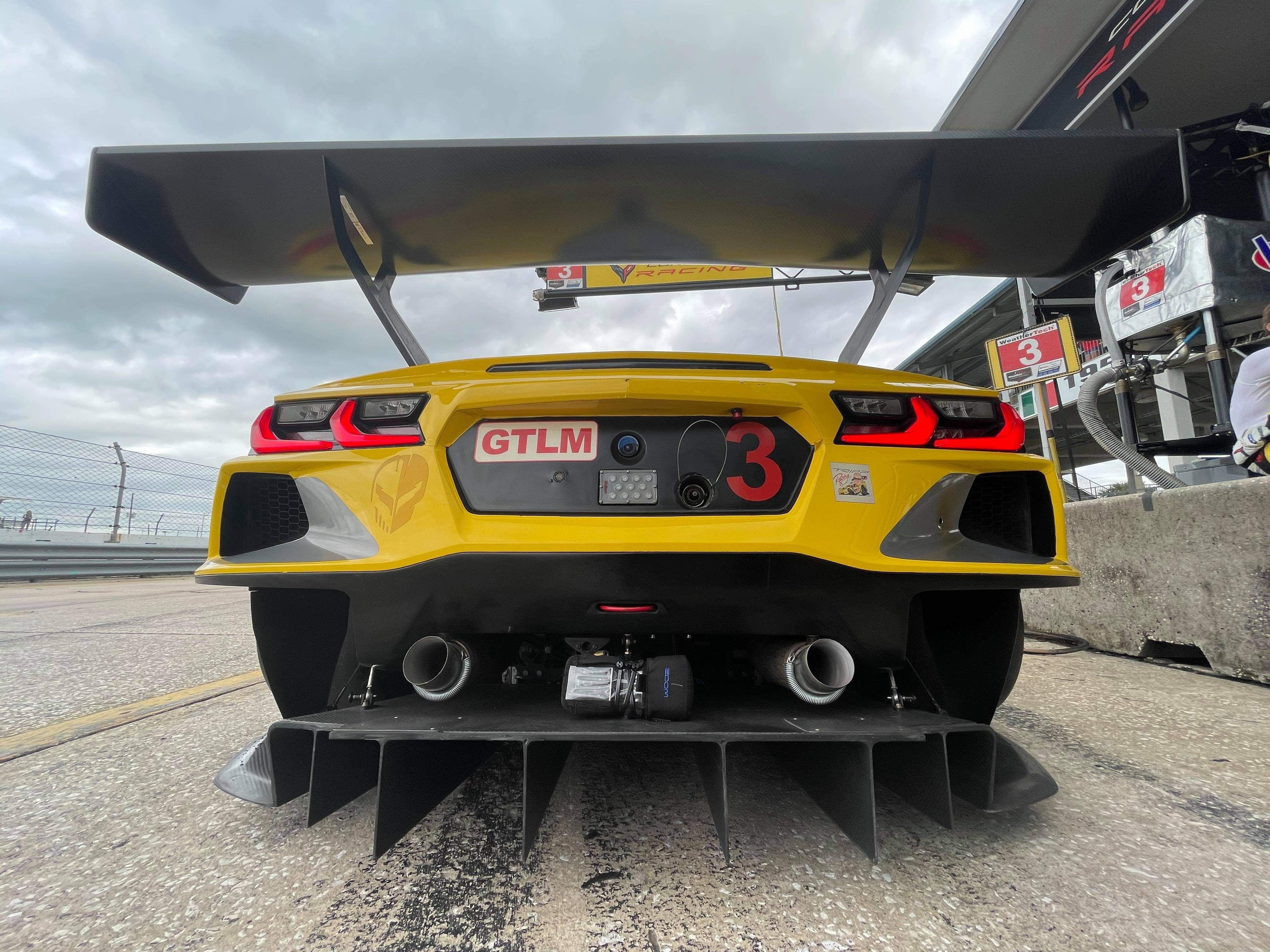 The Corvette C8.R's Flat-Plane Crank V-8 Sounds Unlike Anything Else in Racing Today