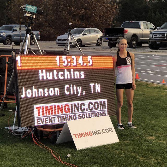 jenna hutchins at five  dime track meet