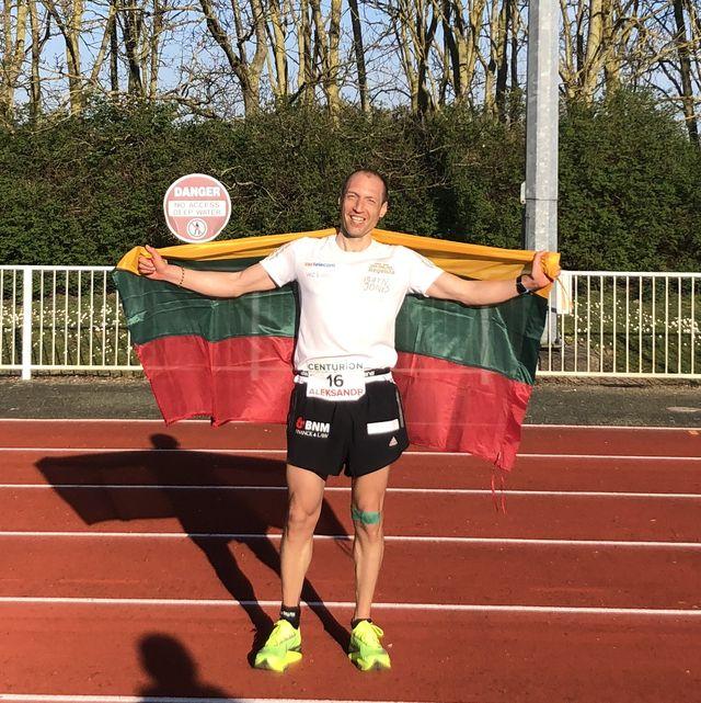 sania sorokin 100 mile world record