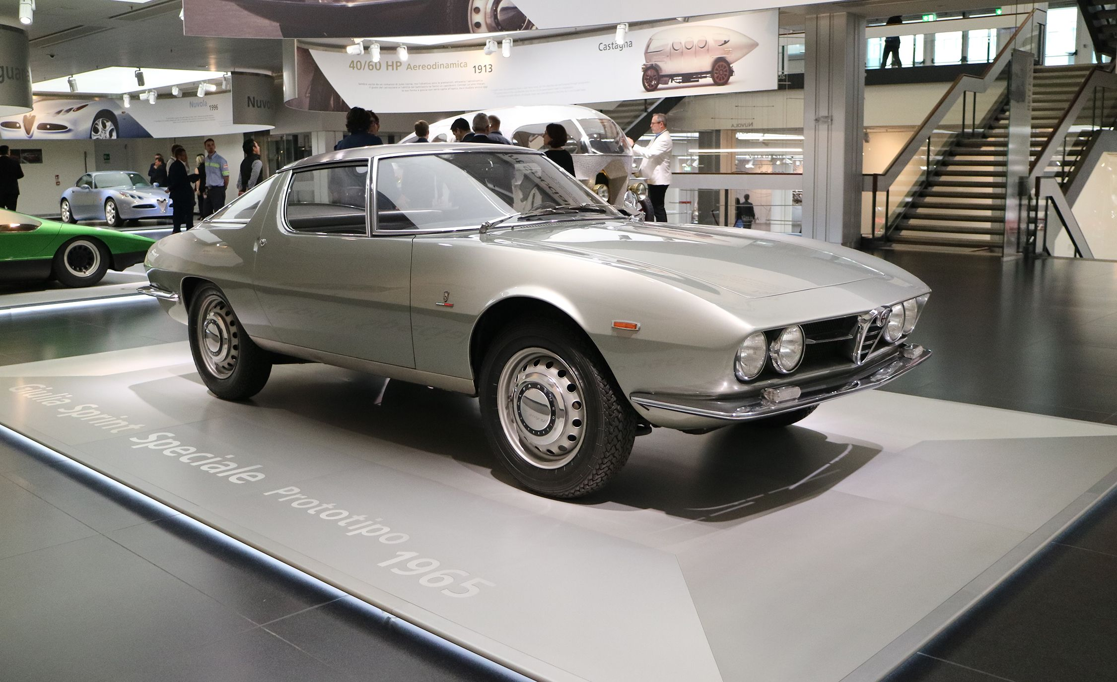 A Visual Tour of the Alfa Romeo Museum in Italy Feature