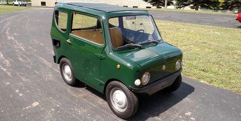 Land vehicle, Vehicle, Car, Motor vehicle, City car, Subcompact car, Classic car, Van,