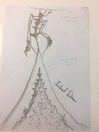 Meghan Markle\'s wedding dress sketches may just have been leaked