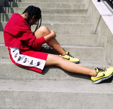Footwear, White, Human leg, Red, Shoe, Leg, Yellow, Pink, Ankle, Joint,