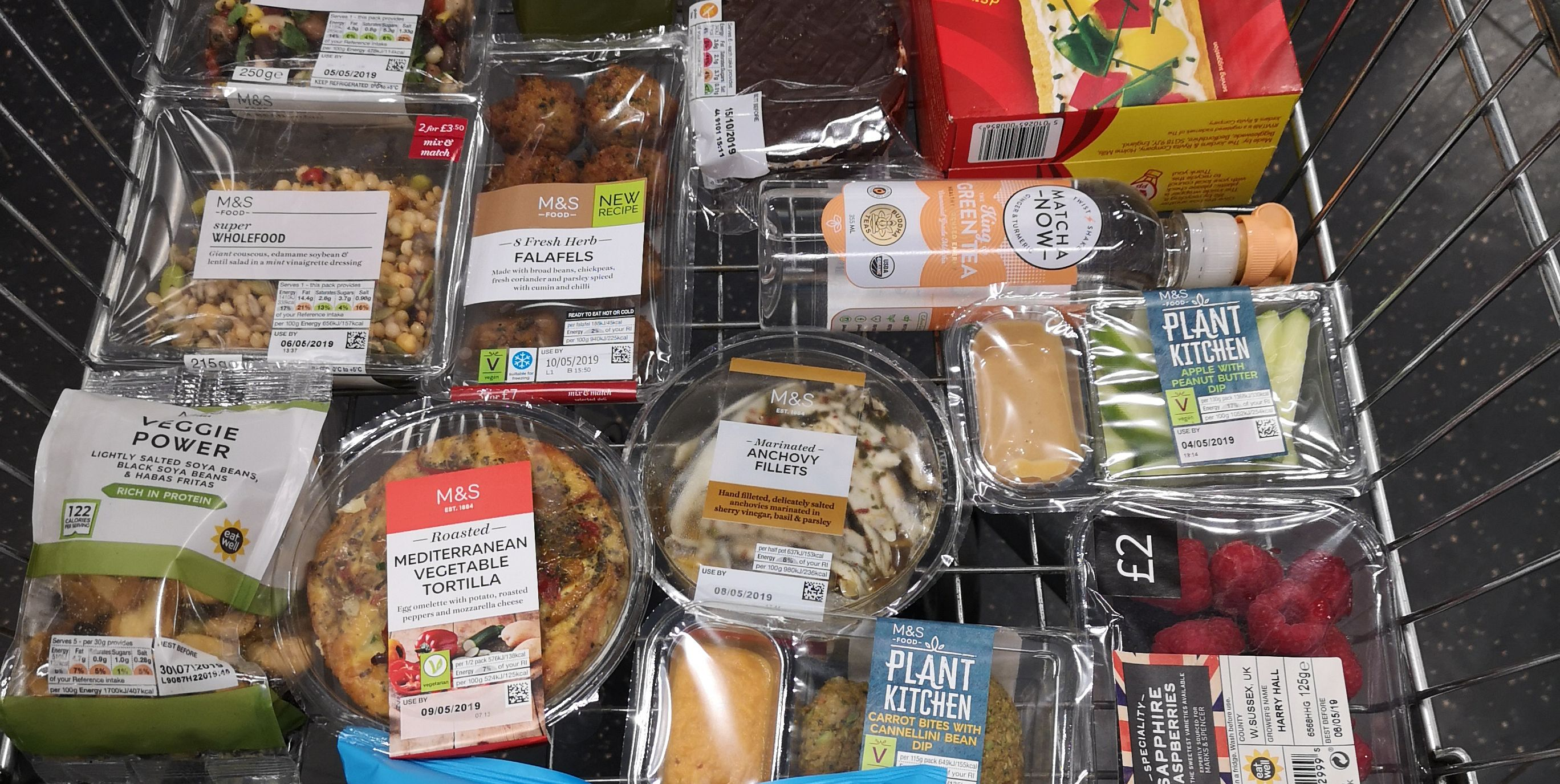 Healthy M&S Picnic Foods