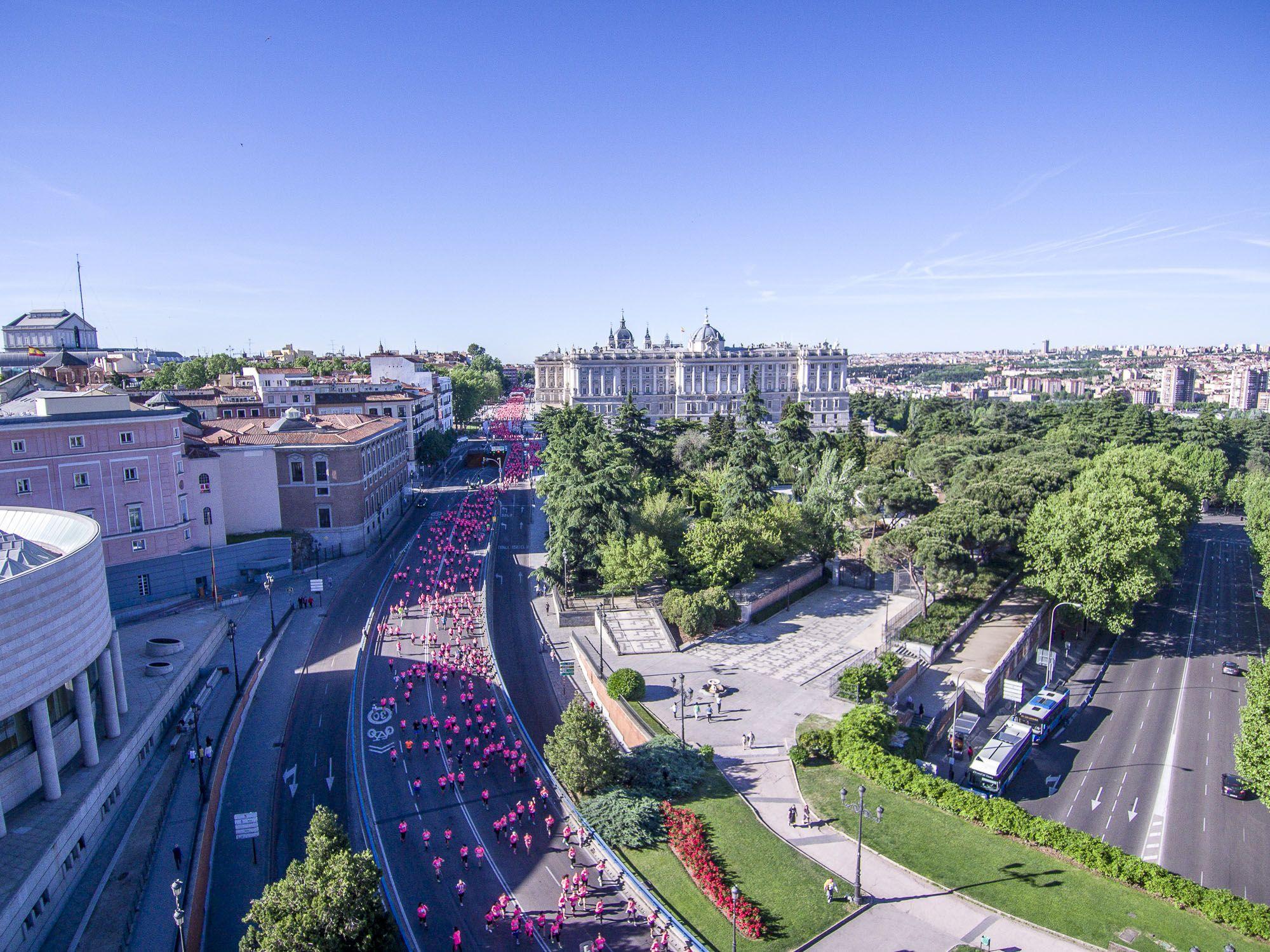 18.000 mujeres corren este domingo en Madrid