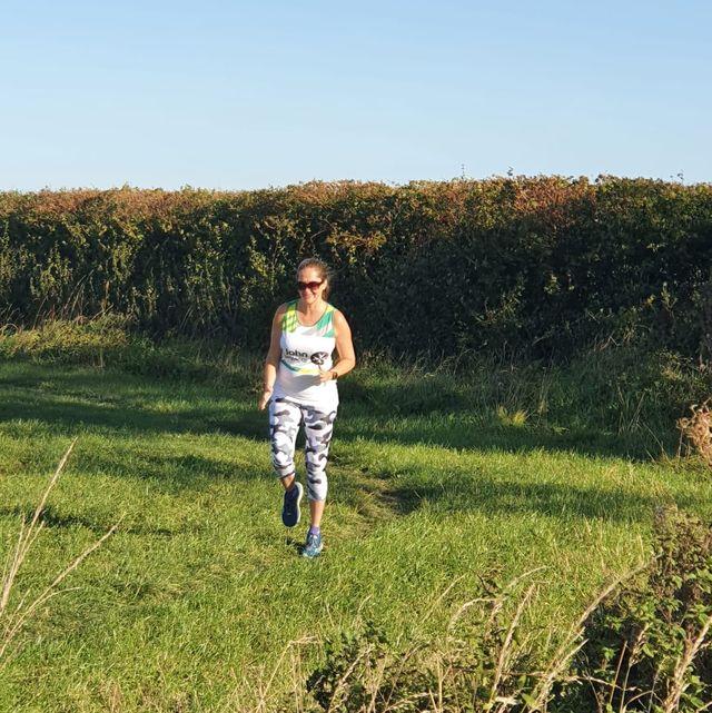 Eleanor training in the sun