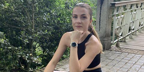 zoe rosielle test garmin smartwatch