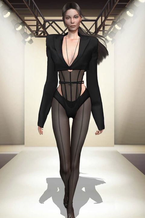 The Sims Game Custom Fashion Saint Laurent How The Sims Became A Hub For Digital Fashion