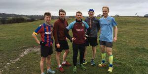 Scott Cunliffe running Burnley