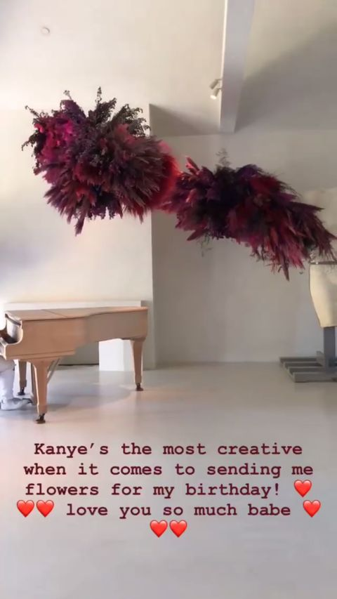 Kim Kardashian Birthday Gift From Kanye West
