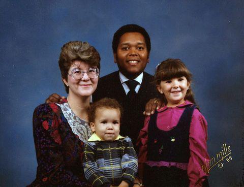 Baby black mom white white dad Black parents