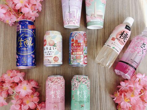 粉紅,櫻花,7-11,櫻花季,賞櫻,美食,旅遊,草莓,草莓歐蕾