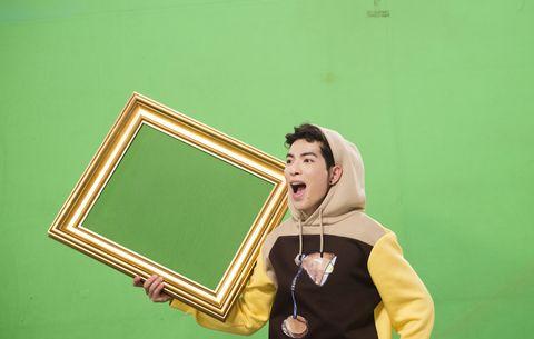 Green, Yellow, Blackboard, Room, Fun, Photography,