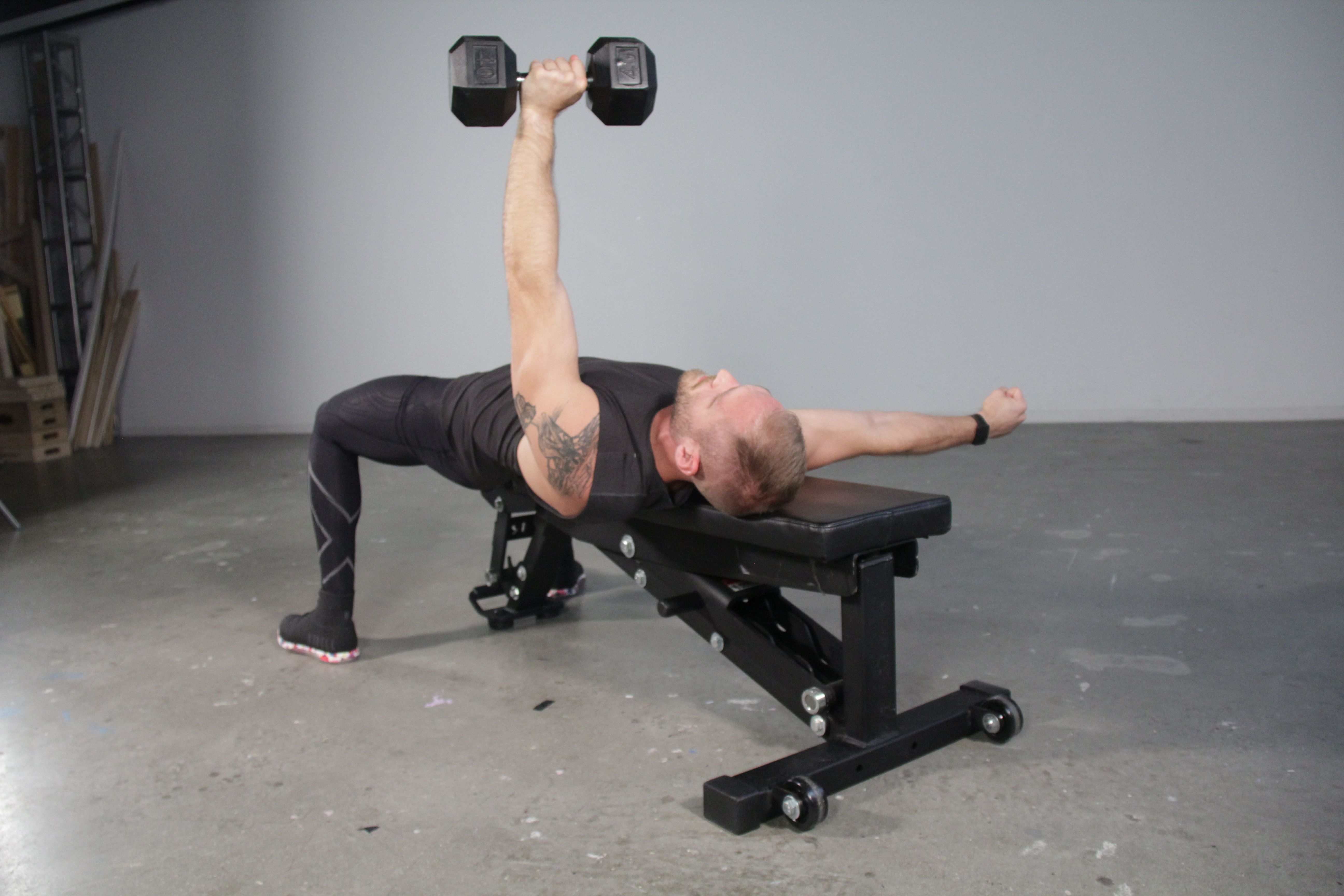 Pump Up Your Chest and Abs With This Bench Press Variation
