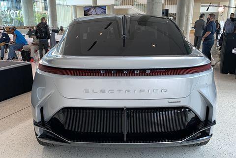 lexus electric concept