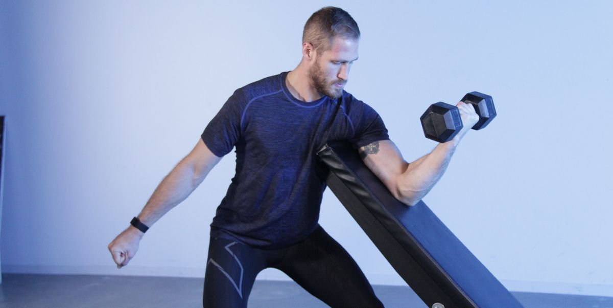 Blow Up Your Biceps With the Preacher Curl