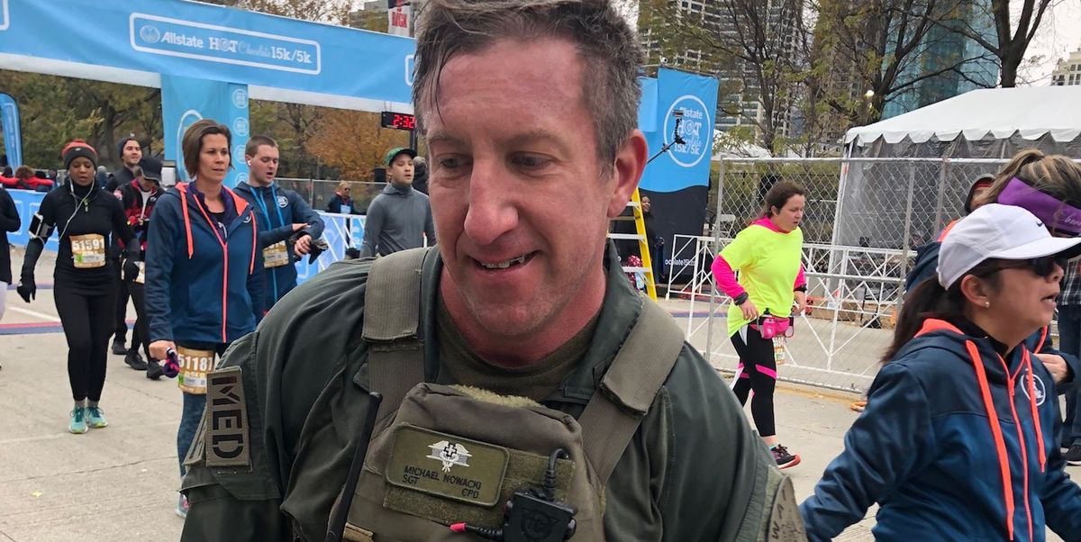 SWAT Team Runner Saves Life, Proposes at Race