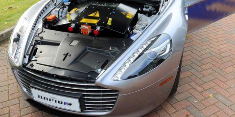 Aston Martin RapidE The First True Luxury Electric Sedan - Aston martin sedan
