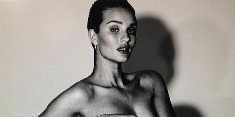 Rosie Huntington Whiteley Embarazada El Desnudo De Rosie