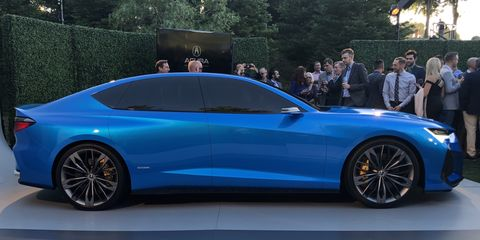 Acura Type S Concept Is An Exciting Preview Of Future
