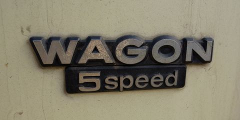 honda civic wagon five speed emblem