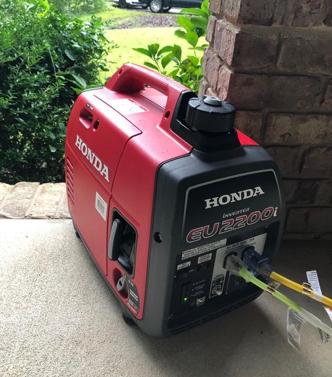 Honda Eu2200i Generator How I M Getting Through Hurricane Florence