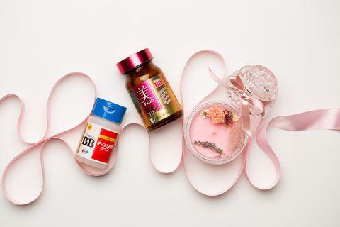 Product, Pink, Skin, Footwear, Material property, Liquid,
